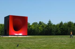 (Anish Kapoor, 'Sectional Body preparing for Monadic Singularity' / Photo : © TB / Time Out)