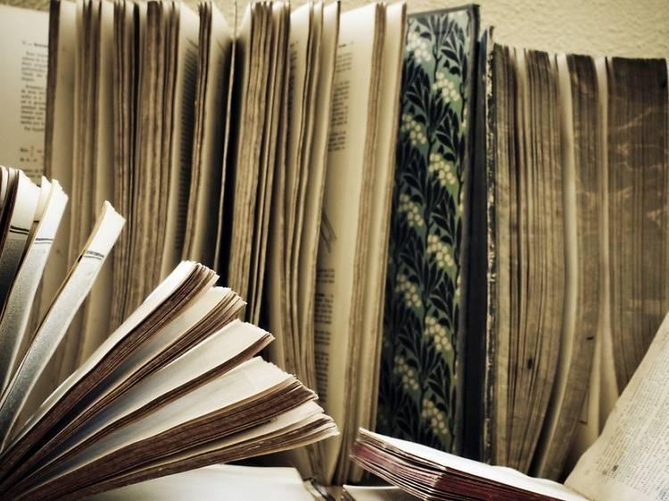 De beaux livres d'art au Divan ou au Monte-en-l'air