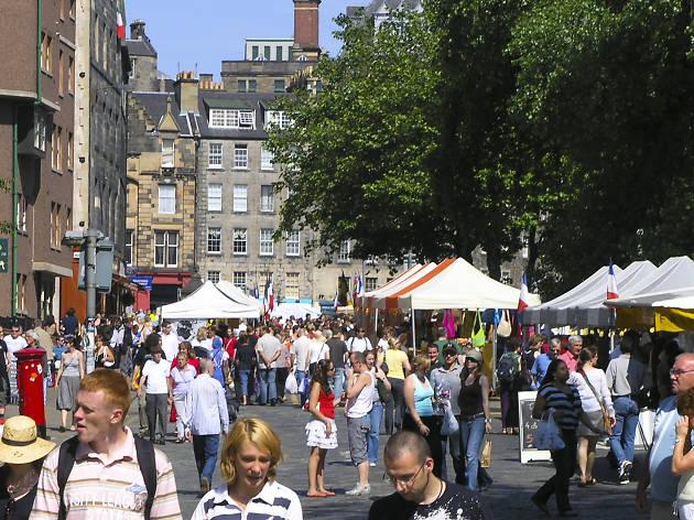 Grassmarket Weekly Market