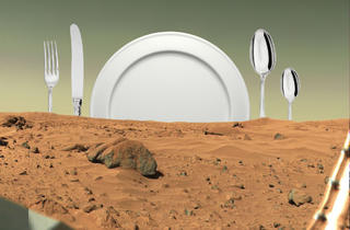 The Menu for Mars Kitchen