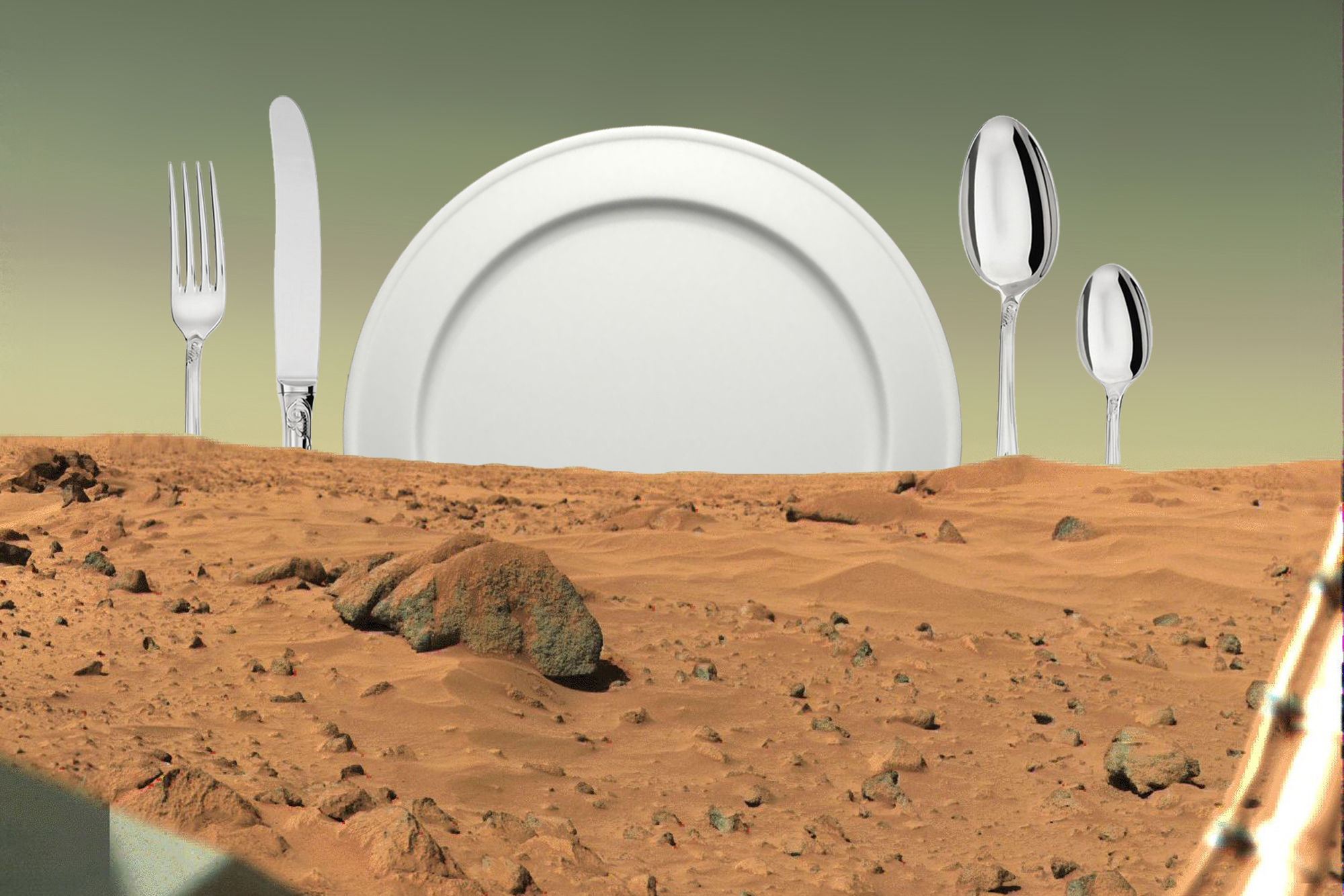 Headed for Mars? Check out what might be on the menu