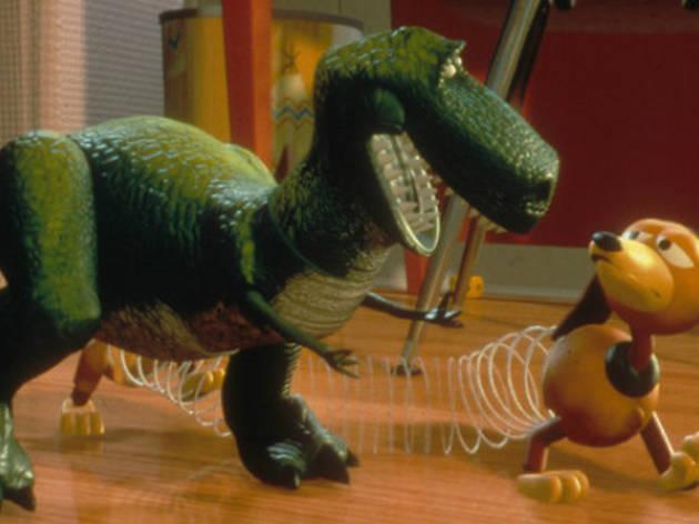 Rex y Slinky (Foto: Cortesía Disney)