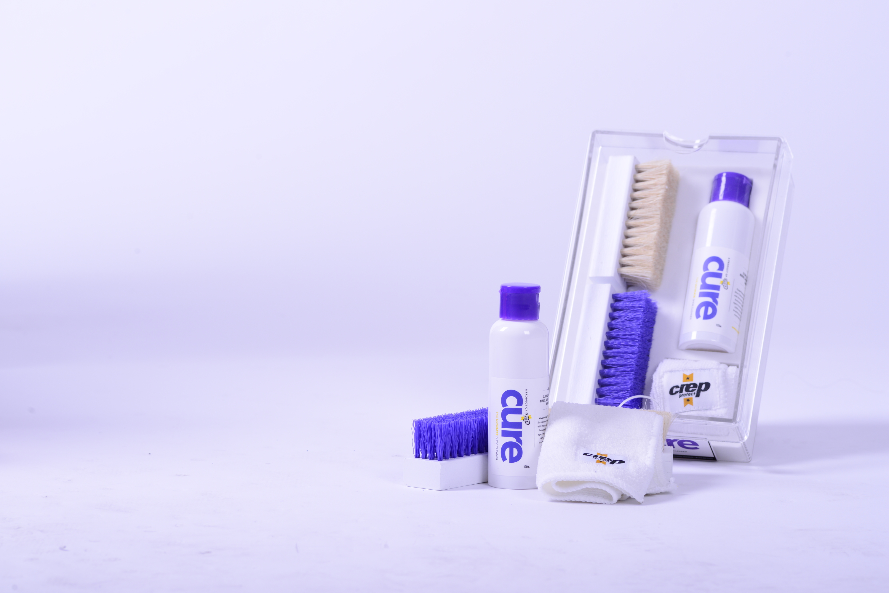 Crep Protect Cure Premium Sneaker Cleaning Kit