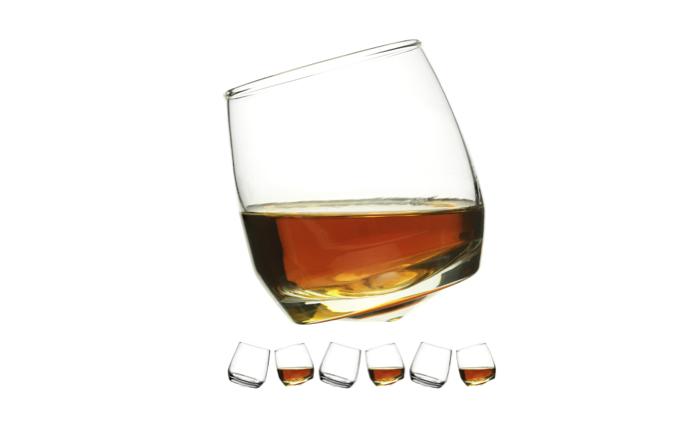 Sagaform Rocking Whisky Glass