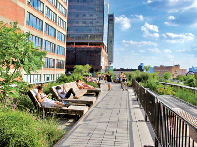 Escapade perchée sur la High Line