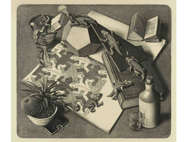 MC Escher, Reptiles