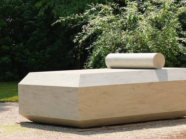 (Sèvres Outdoors 2015 / Mathieu Mercier, 'Last Day Bed', 2014 / Galerie Torri/ Photo : © TB / Time Out)