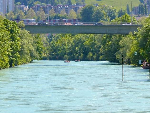 Thun-Bern float trip