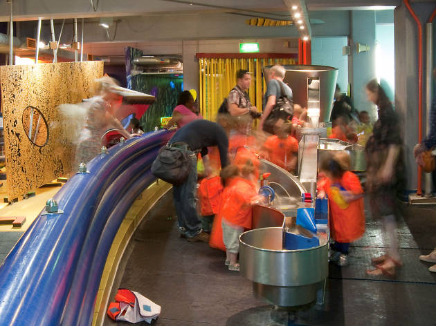 101 things to do in London with kids Water Games at the Science Museum