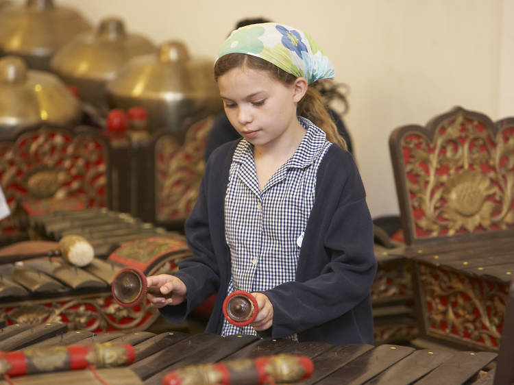 Learn to play the gamelan at the South Bank