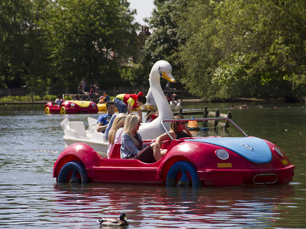 101 things to do in London with kids, Alexandra Palace Boating Lake