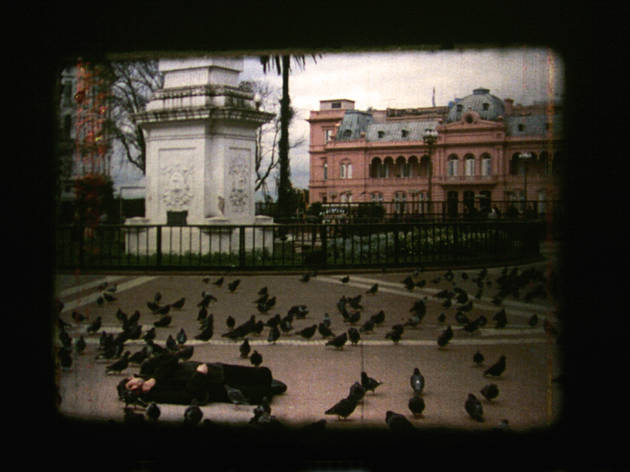 (My Buenos Aires / Fabio Kacero, 'Totloop', 2003 / Film 16mm / En collaboration avec Union Gaucha Producciones / Courtesy de l'artiste)