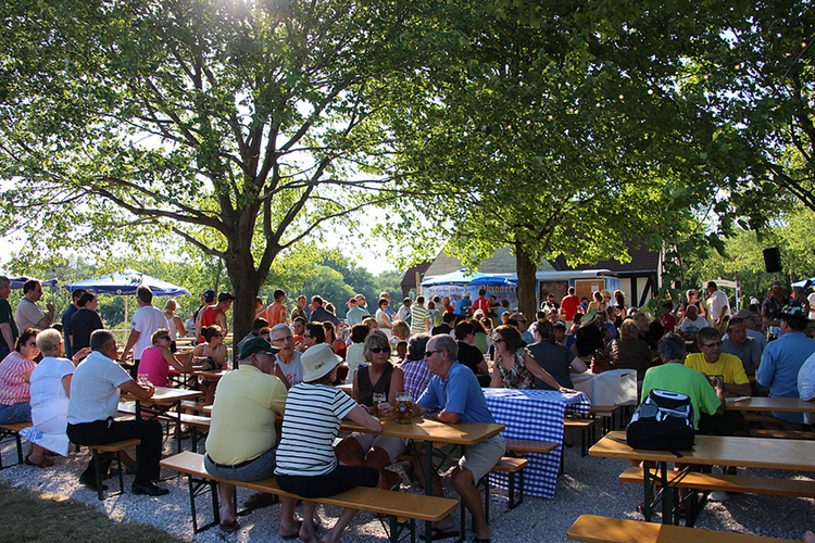 Estabrook Beer Garden, Milwaukee