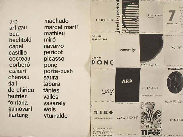 Del segon origen. Arts a Catalunya 1950-1977