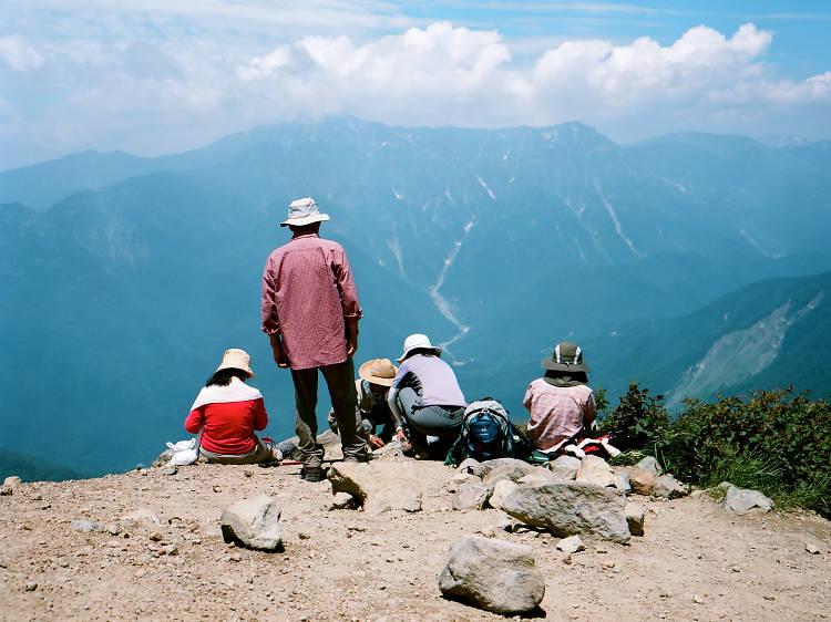 Mt Yake-Dake (2,455m)
