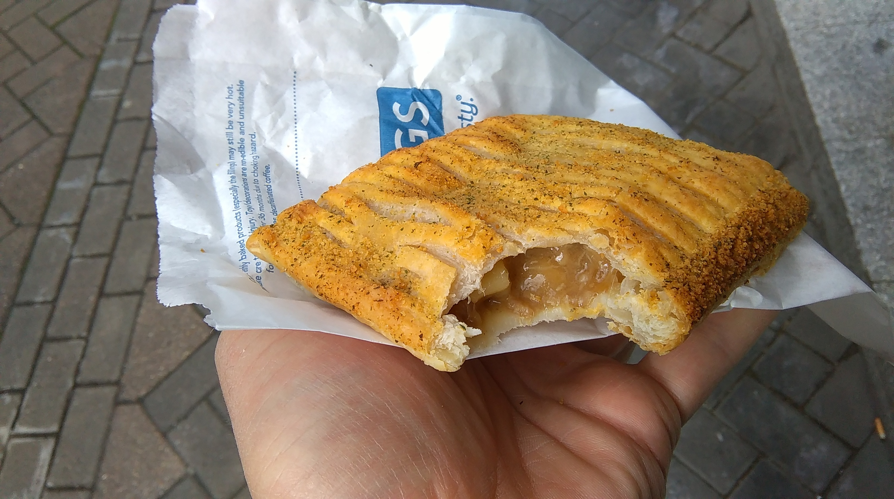 greggs pork stuffing and apple