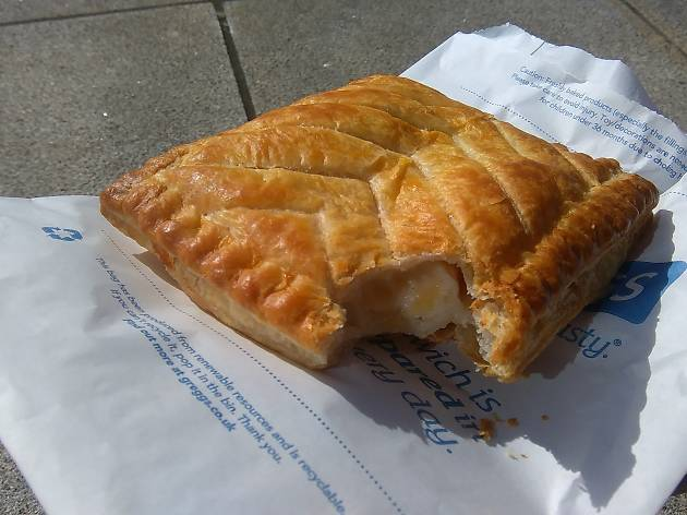 greggs cheese and onion pasty
