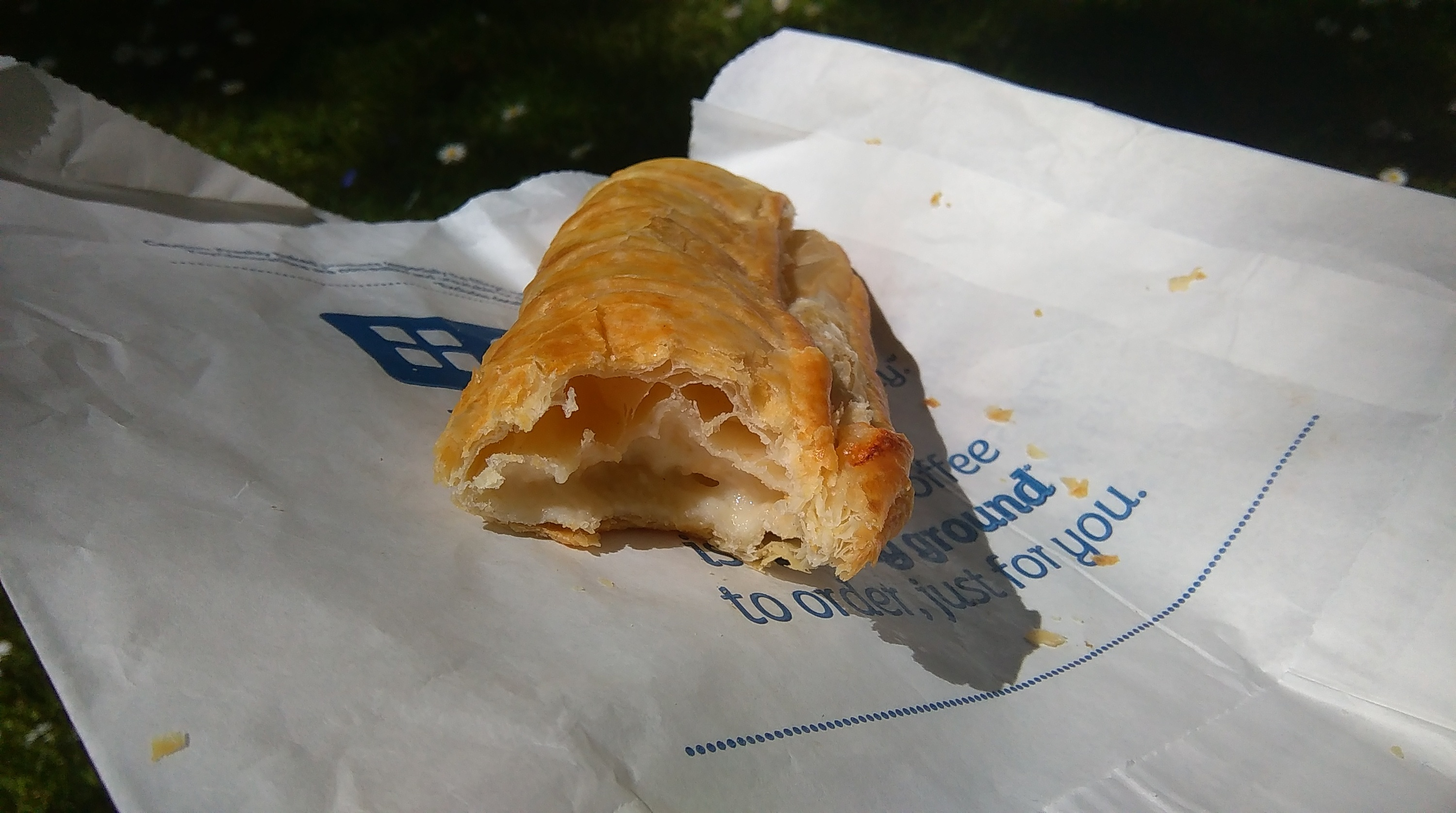 cheese and onion roll greggs
