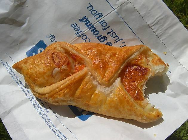 greggs cheese and bacon melt