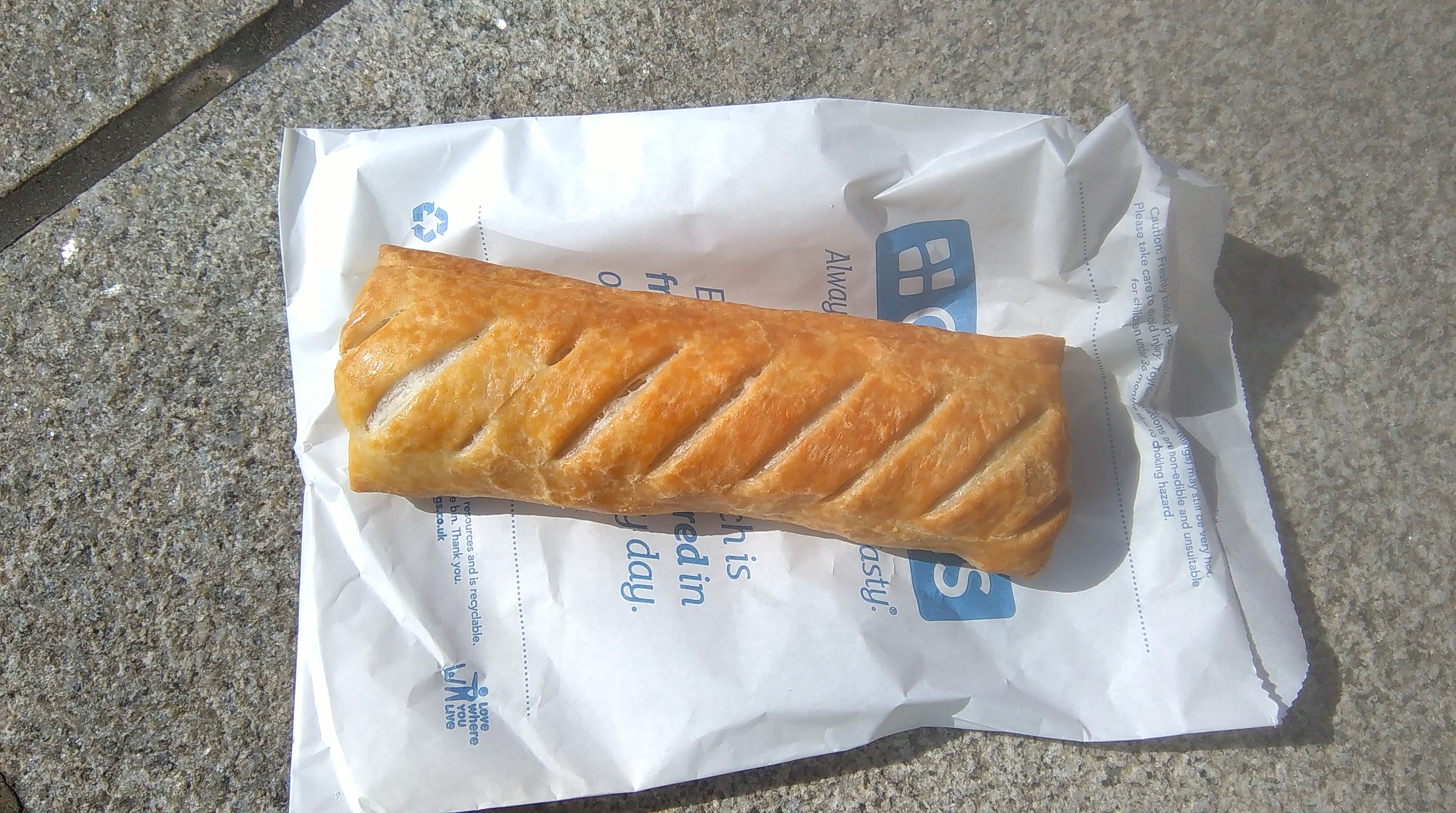 Greggs is trialling a delivery service in London