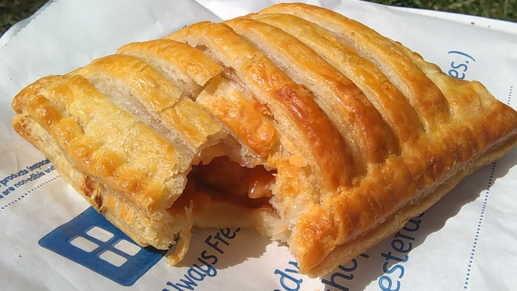 greggs sausage cheese and bean melt