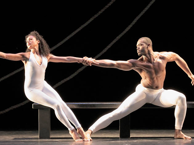 AAADT's Linda Celeste Sims and Jamar Roberts in Ulysses Dove's Bad Blood