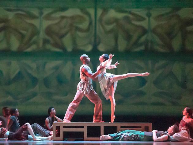 Alvin Ailey American Dance Theater in Matthew Rushing's ODETTA