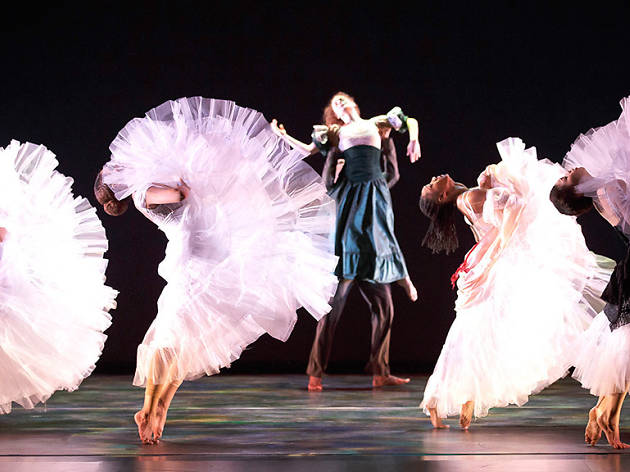 Alvin Ailey American Dance Theater in Jacqulyn Buglisi's Suspended Women