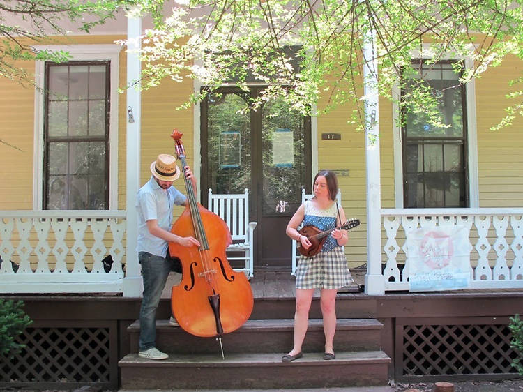 1–5pm Porch Stomp at Governors Island