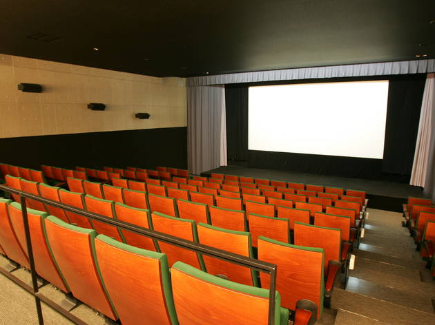 Discover an old-school cinema