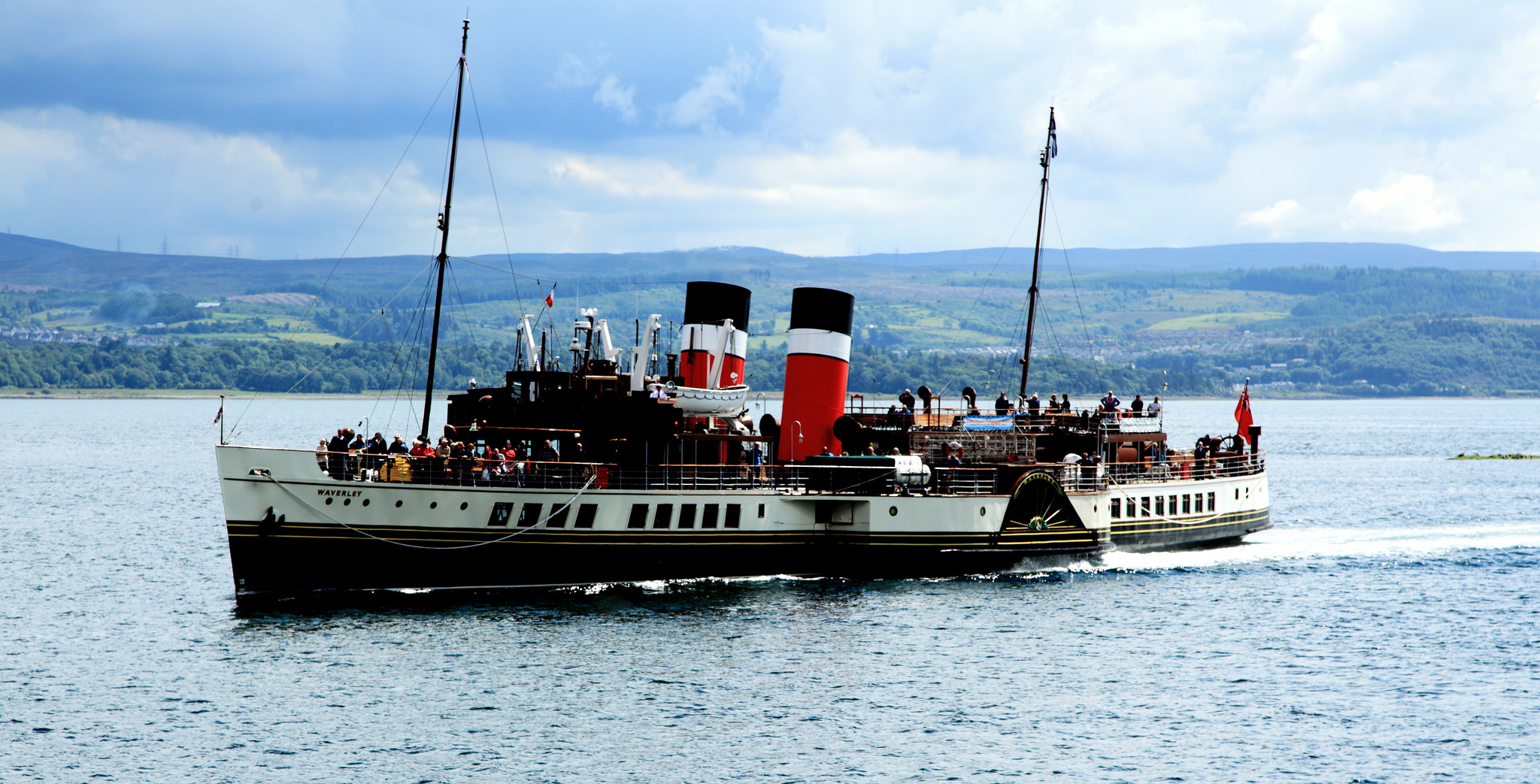 paddle steamer waverley