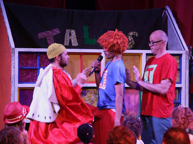 Join the stars of the show on stage at the Chickenshed Theatre