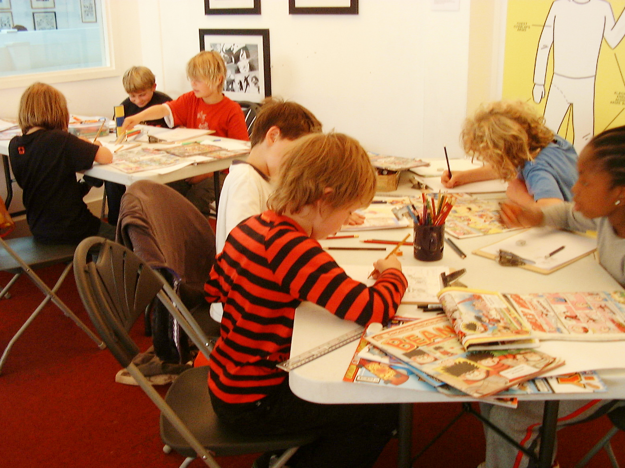 101 things to do in London with kids,Cartoon Museum workshop