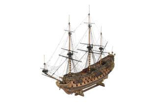(Flagship Naseby, Robert Spence, 1943 © National Maritime Museum, London)