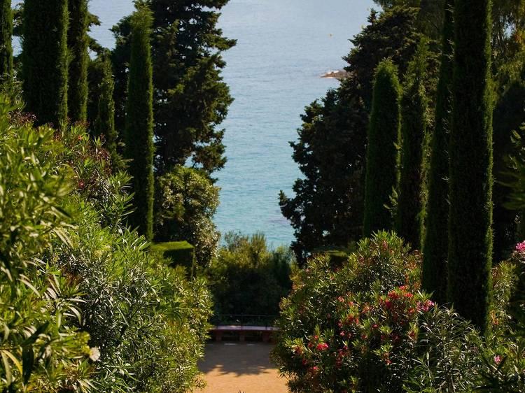 Els jardins de Santa Clotilde