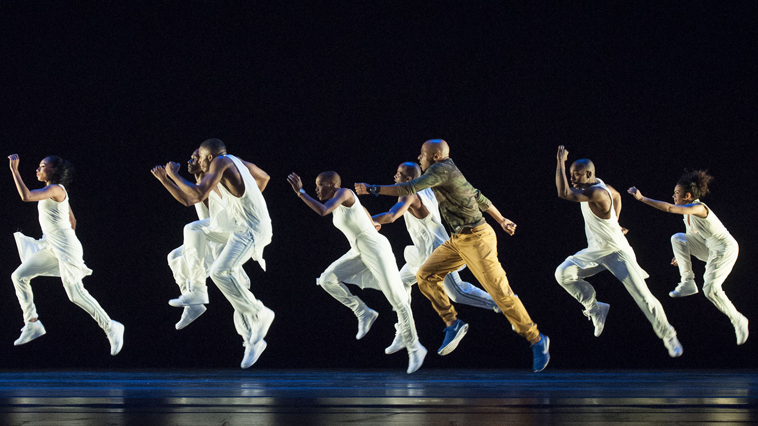 Check out our photos of contemporary performance Exodus at Alvin Ailey