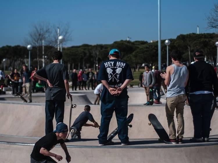 Els carrers de la ciutat, ideals per patinar