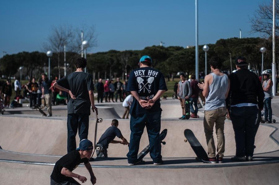 Las calles de la ciudad, ideales para patinar