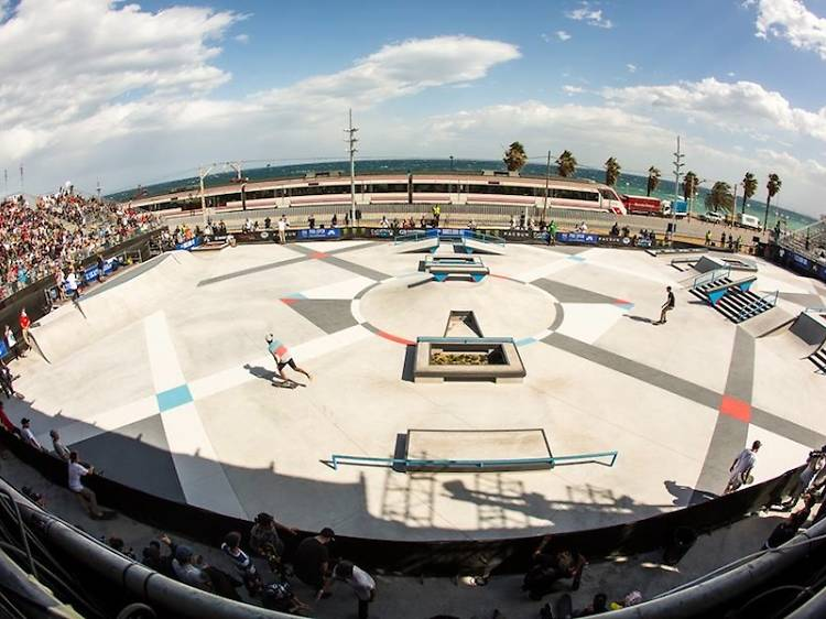 Skate Agora, l'skatepark que millor recrea el carrer