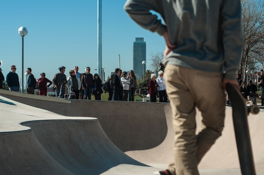 La Mar Bella: el primer skatepark de nueva generación