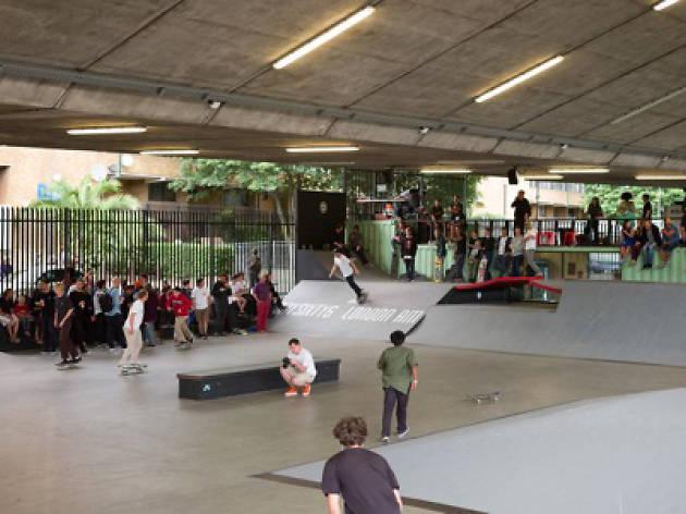 Bay Sixty 6 skate park