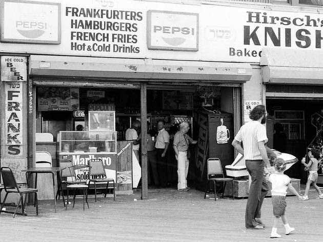 Circa 1960, Brighton Beach Boardwalk