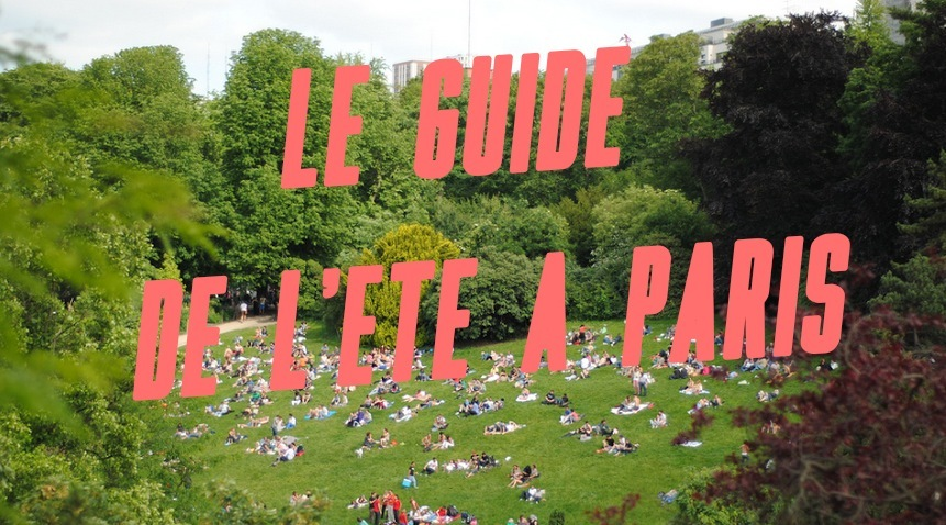 Le Guide de l'été à Paris