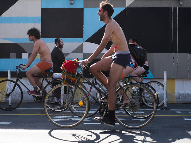 Guide to the World Naked Bike Ride in NYC