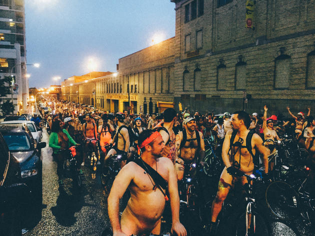 World Naked Bike Ride 2015 photos