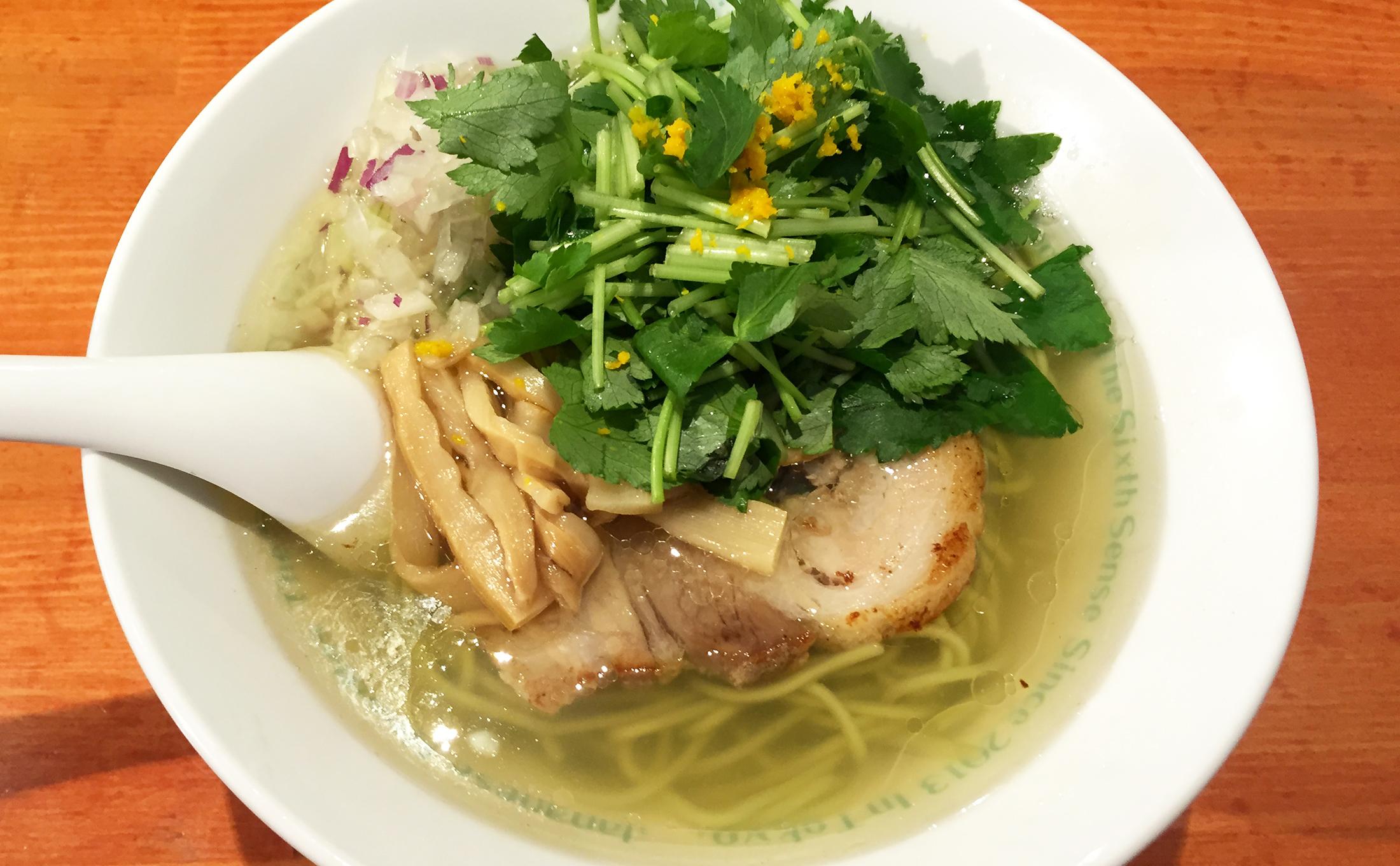 The best ramen in Ikebukuro