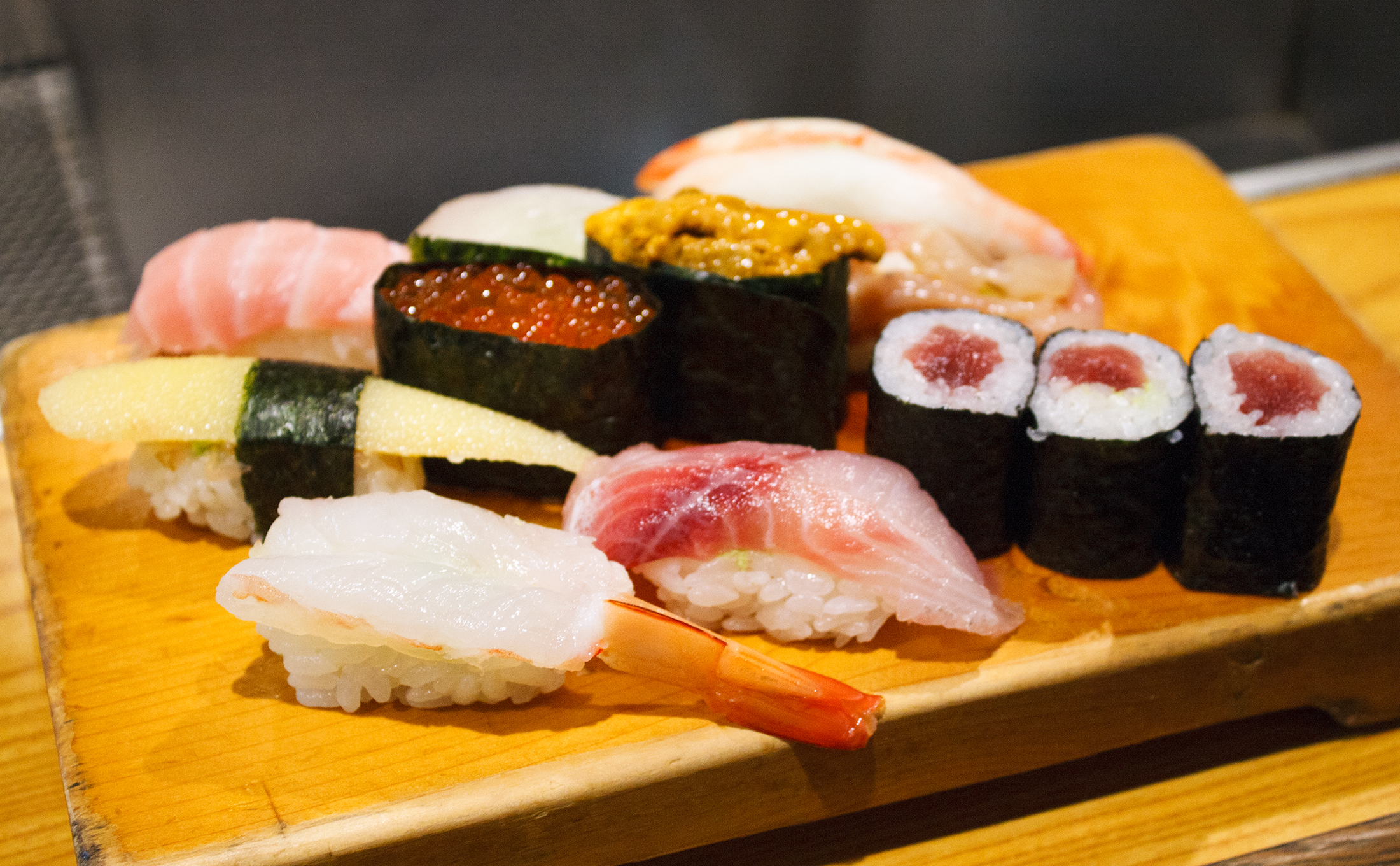 The best standing-only sushi in Tokyo
