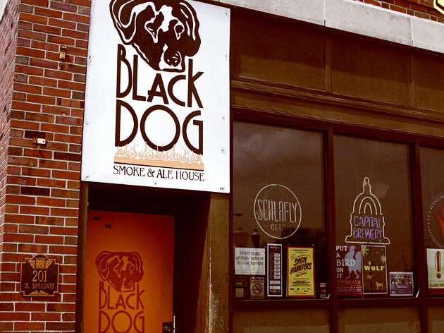 Black Dog Smoke & Ale House; Urbana, IL
