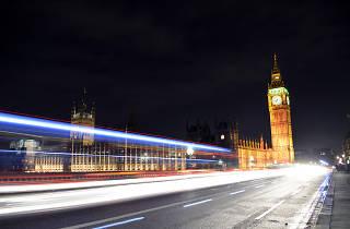 London at Night Pink Ribbonwalk