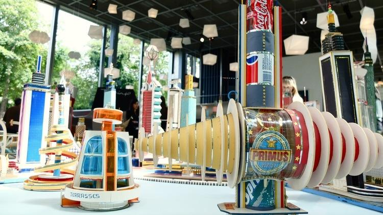 Vue de l'exposition 'Mémoires vives', 2014 / Photo : © TB / Time Out